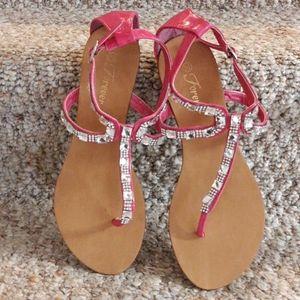 Forever Hot Pink Sandals